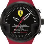 Scuderia Ferrari Smartwatch Black
